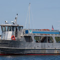 The Island Runner is a passenger ferry that runs from St. Albans to Burton Island.- Burton Island State Park