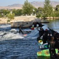 Green Wave at Boise Whitewater Park. - Boise Whitewater Park