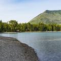 Lake McDonald and the Apgar beach area.- Apgar Campground