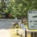 No trailers or large vehicles here.- Sprague Creek Campground