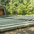 Fish Creek amphitheater.- Fish Creek Campground
