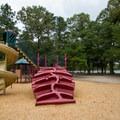 A playground the park.- Trap Pond State Park