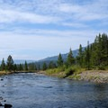 Soda Butte Creek is a manageable ford in September.- The Thunderer