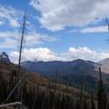 See Amphitheater Mountain on the far left.- The Thunderer