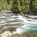 Upper McDonald Creek.- Upper McDonald Creek Trail