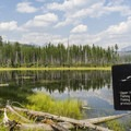 There are fishing restrictions on Upper Howe Lake.- Howe Lake Trail