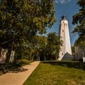 Sandy Hook Lighthouse.- Sandy Hook