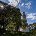 The Sandy Hook Lighthouse.- Sandy Hook