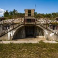 The ruins of old Fort Hancocks.- Sandy Hook
