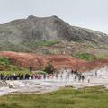 Bjarnarfell, the overlooking mountain.- Geysir and Strokkur