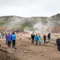 Continuing to explore Haukadalur.- Geysir and Strokkur