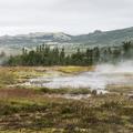 Smiður, the boiling hot spring.- Geysir and Strokkur