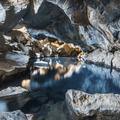 Grjótagjá in the summer light.- Grjótagjá Cave