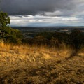 View of Corvallis and the surrounding Willamette Valley.- Bald Hill Natural Area