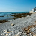 The western end of Middle Beach.- Middle Beach in Kennebunk
