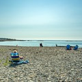The middle section of Middle Beach.- Middle Beach in Kennebunk