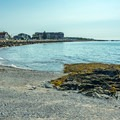 Looking east from the middle section of Middle Beach.- Middle Beach in Kennebunk