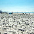 Softer white sand can be found on the western end closer to the playground area.- Mother's Beach