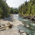 McDonald Creek.- Johns Lake Loop Hike