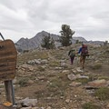 Entering the Ruby Mountain Wilderness.- Liberty Lake Backpacking
