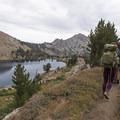 Backpacking to Liberty Lake.- Liberty Lake Backpacking