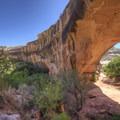 Kachina Bridge.- Kachina Bridge Trail