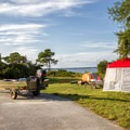 Another example of a bayside campsite.- Assateague Island Campground