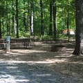 A typical tent site.- Bull Run Campground