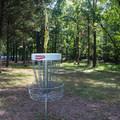 The park has a disc golf course.- Bull Run Campground