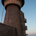 The weather and watchtower on the summit.- Brasstown Bald