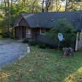 Cabins of various styles are available.- Unicoi State Park Campground