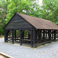 One of the park's picnic shelters. - Prince William Forest Park