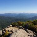 Looking back across the rocky summit. - Marys Rock