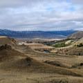 Find an excellent view of Gardiner from the trail. - Rescue Creek