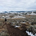 See the Blacktail Deer Plateau in the distance.- Rescue Creek