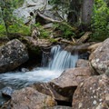 As you descend down the North Teton Trail you will pass several smaller waterfalls.- Table Mountain Loop