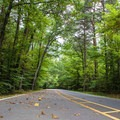 The park's scenic drive and bike lanes.- Oak Ridge Campground CoA