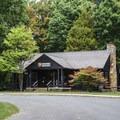Prince William Forest Park Visitor Center.- Oak Ridge Campground CoA