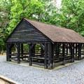 Picnic shelter.- Oak Ridge Campground CoA