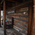 Changing rooms at Burgdorf Hot Springs. - Burgdorf Hot Springs