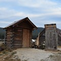 Restroom facilities at Burgdorf. - Burgdorf Hot Springs