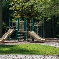 Playground near the campground.- Unicoi State Park + Lodge
