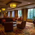 Meeting area inside the lodge, which is available for events.- Unicoi State Park + Lodge