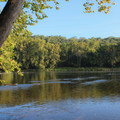 The park has multiple points with river access.- Shenandoah State Park EW Campground