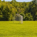 Baseball cage near the camping area.- St. Francois State Park Campgrounds