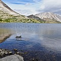 Ptarmigan Lake.- Skoki Loop via Baker Lake and Merlin Meadows