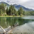 Holland Lake.- Holland Lake Campground