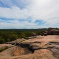 View looking southwest.- Elephant Rocks State Park
