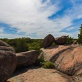The southern path from the top.- Elephant Rocks State Park