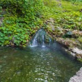 Hot spring near bottom of the park.- Hot Springs National Park